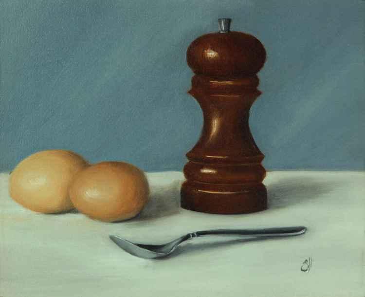 Eggs and Salt -