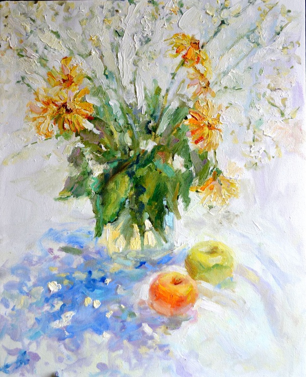 Still life in white - Image 0