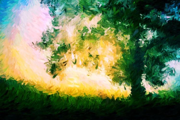 Enchanted Tree - Premium Poster Print - 40 x 30 cm - FREE SHIPPING - Image 0