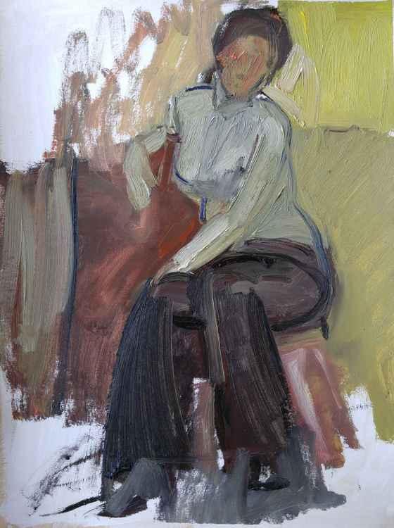 Model Sitting -