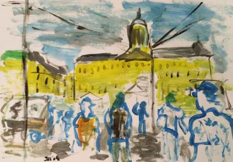 Amsterdam Dam Square -