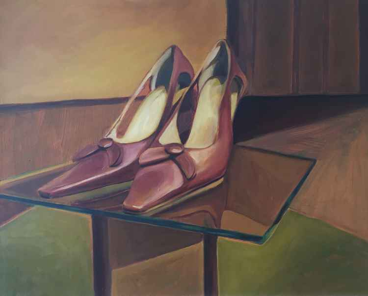 Shoes on a Plinth -