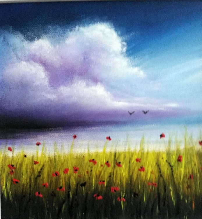 Peaceful poppies - Image 0