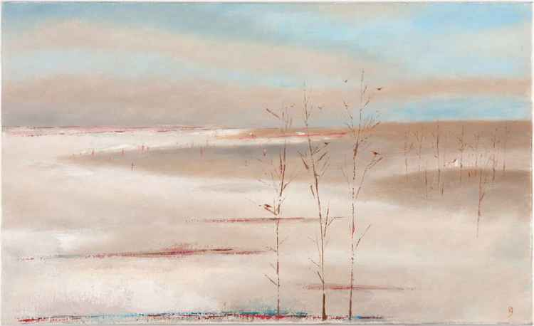 Winter Near The Sea