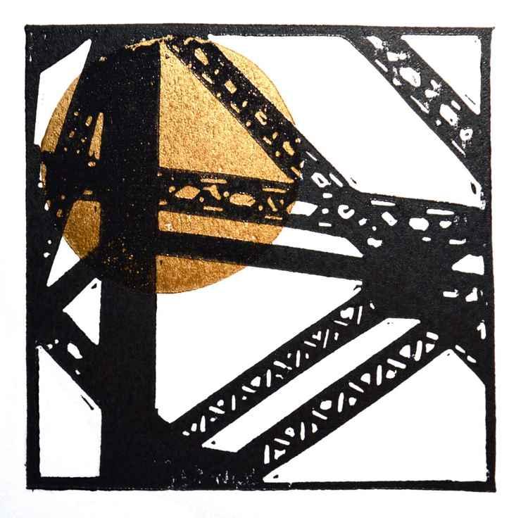 Clydebank crane detail 2 -
