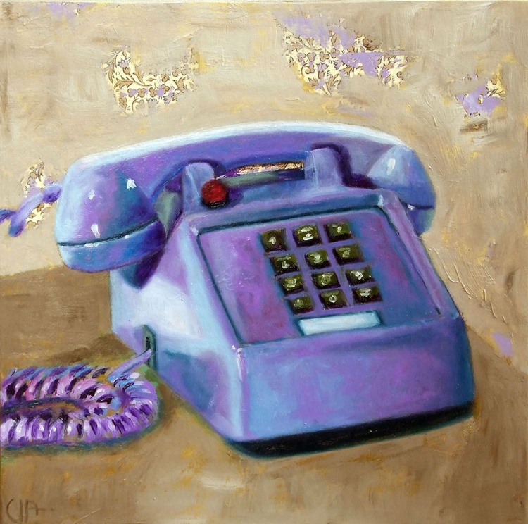 The vintage phone - Image 0