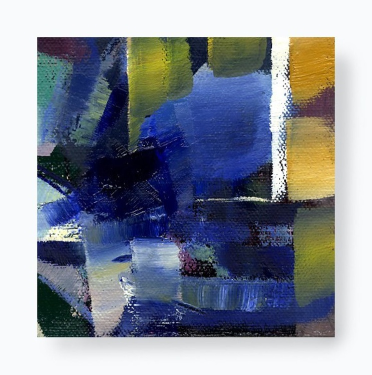 Oil Squared Abstract No. 1 - Image 0
