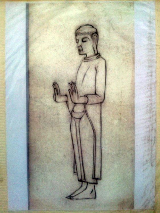 BUDDHA ON STONE - Image 0