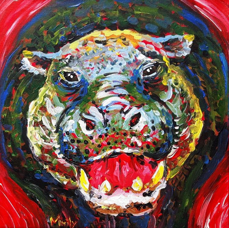 """""""Happy hippo"""" - Image 0"""