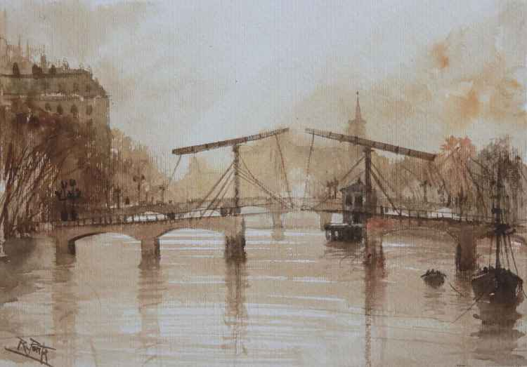 Amsterdam, Skinny Bridge