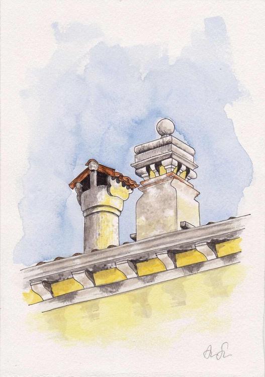 Venetian chimney #11 - Image 0