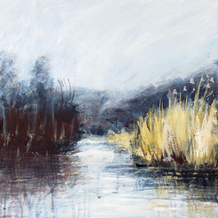 Hamsey Reeds down the Cut - Image 0