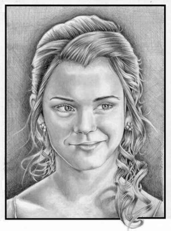 Hermione Granger - from Harry Potter - Original Drawing - Collectable -