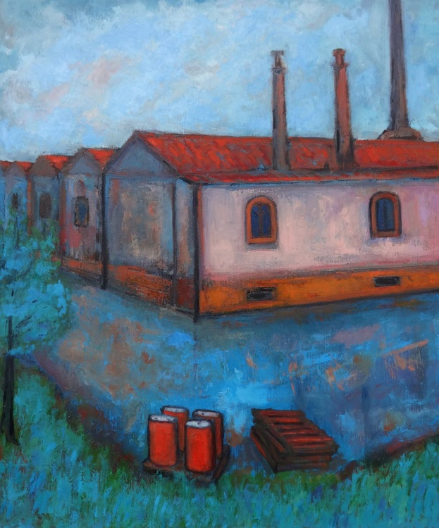 Old industrial area landscape - Image 0