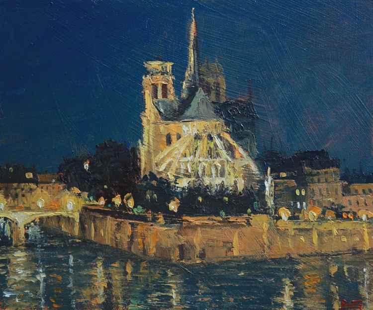 Notre Dame de Paris, Nocturne