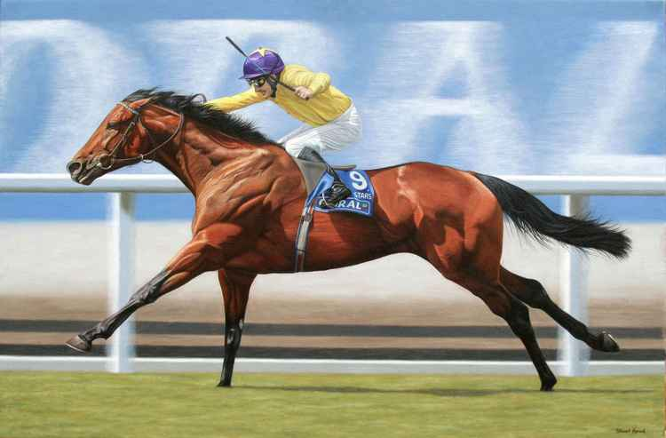 Sea the Stars. Champion racehorse.