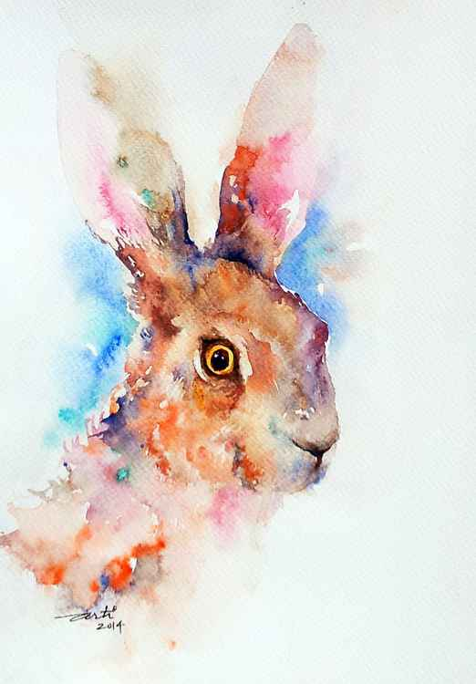 Motley Brown Hare -