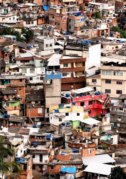 Rocinha Favela, Rio de Janeiro. (84x119cm) - Image 0