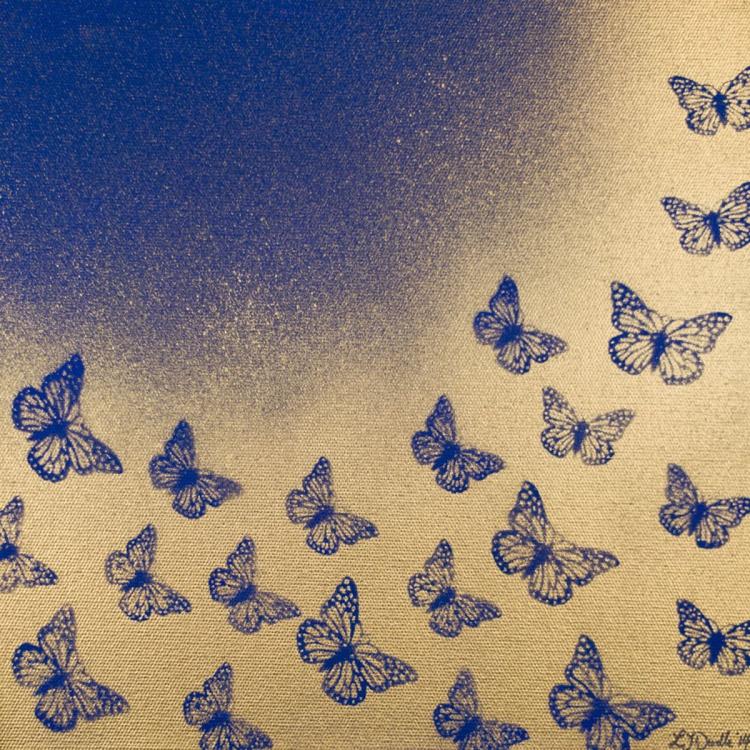 Butterflies at Dusk - Image 0