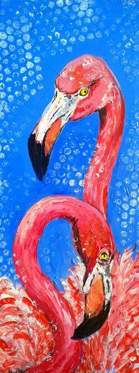 """Flamingo love"" - Image 0"