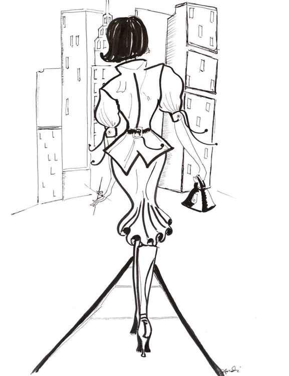NY Fashion Study 1