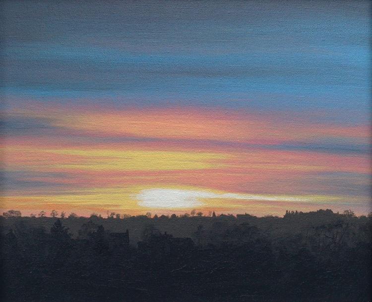 Sundown Horizon - Yellow - Image 0