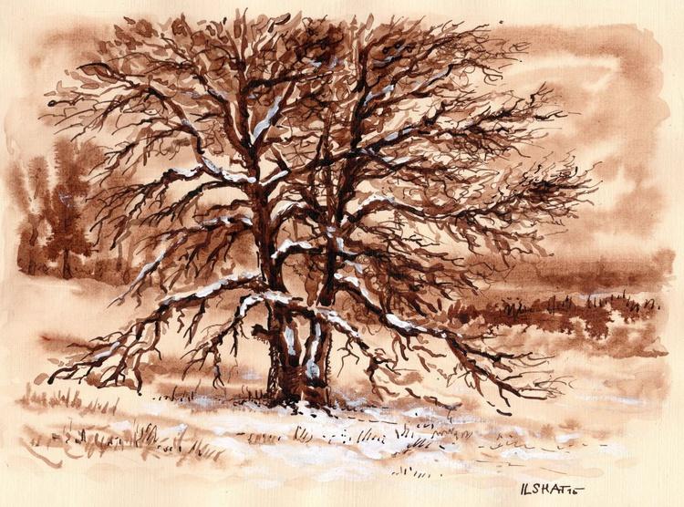 Winter. Tree. 2 - Image 0