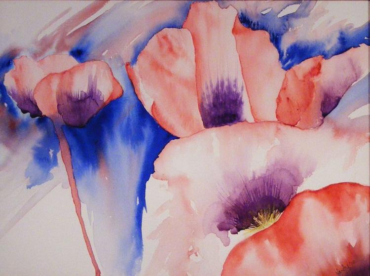 Dusk Poppies - Image 0
