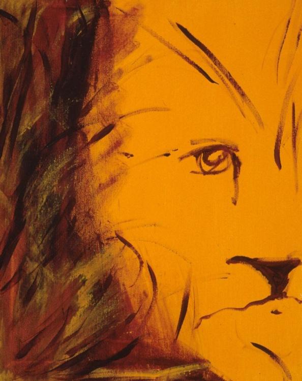 Orange Lion - Image 0