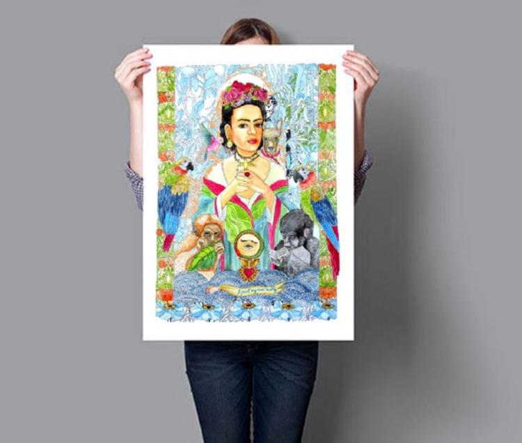 """Frida Kahlo - """"I paint my own reality."""" - Image 0"""