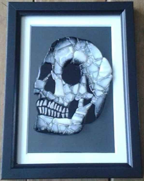 Ryder White Skull