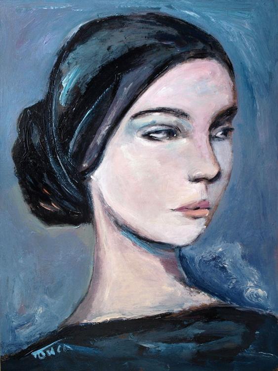 L'une (5) ~ woman portrait, figure study - Image 0