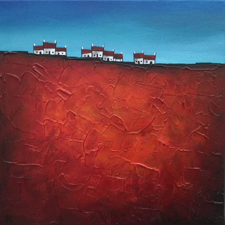 Hilltop houses on Red - Image 0