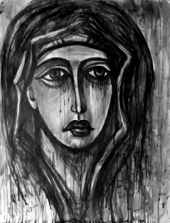 Crying Madonna - Image 0