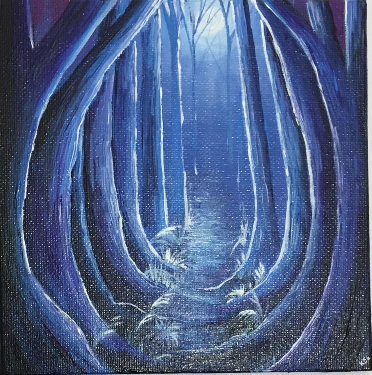 Moonlit woods 3 - Image 0