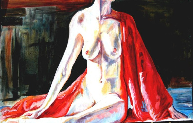 """Nude Dancer series, one of a subset, """"Bookends."""" - Image 0"""