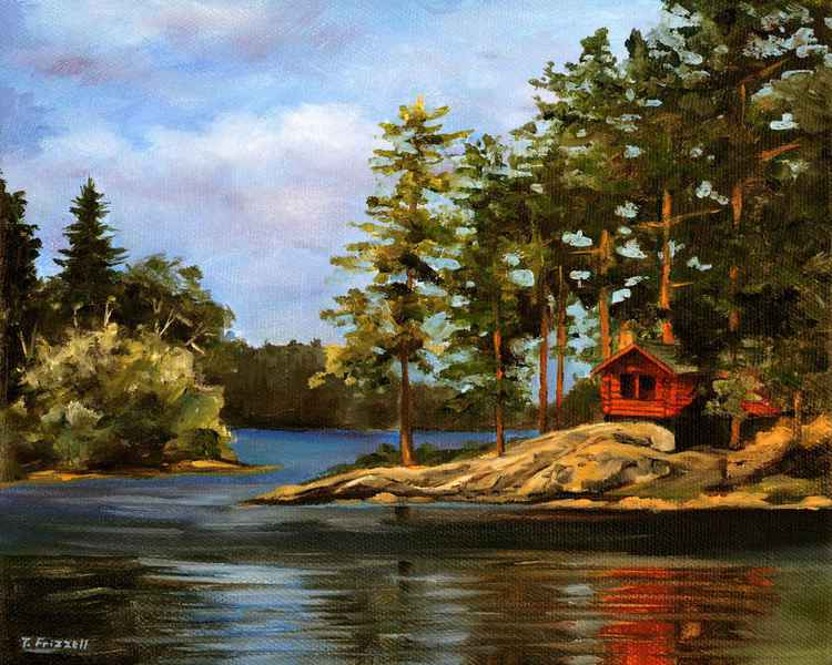 Cabin in the Pines -