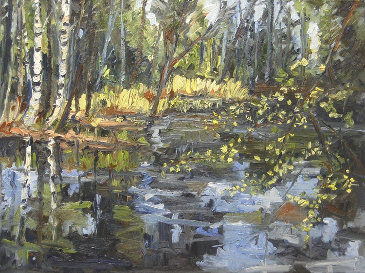 Spring pond - Image 0
