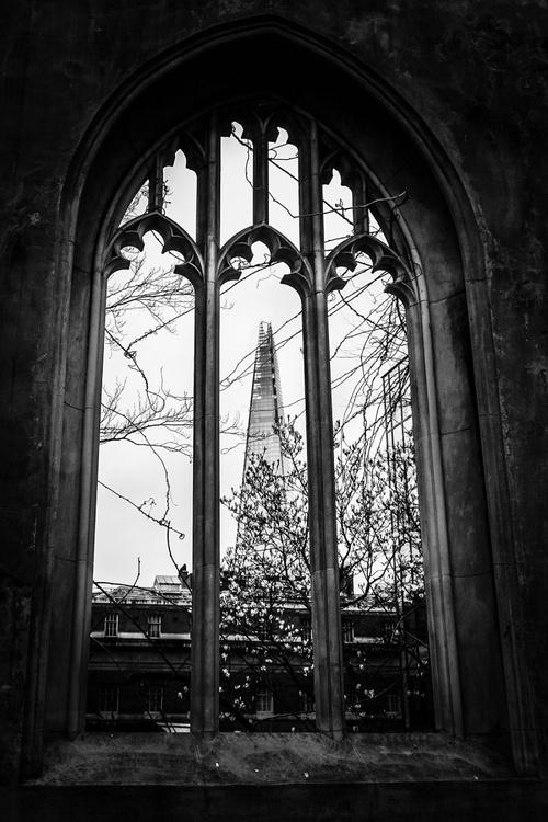 Church window :The Shard  (Limited edition  2/50) 8X12 - Image 0