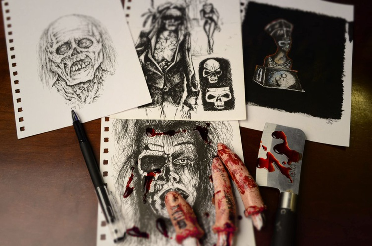 Zombies Sketches 01 - Image 0