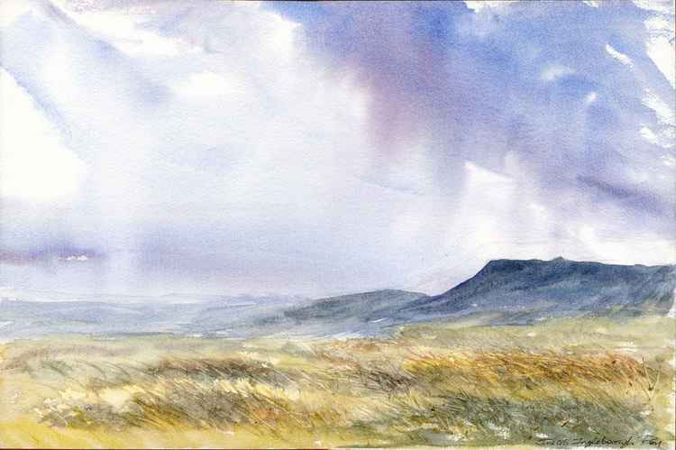 Ingleborough in Early Evening -