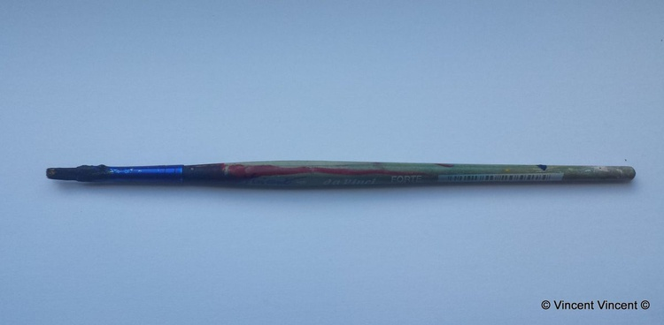 Primary Paint Brush #4 (after Marcel Duchamp) - Image 0