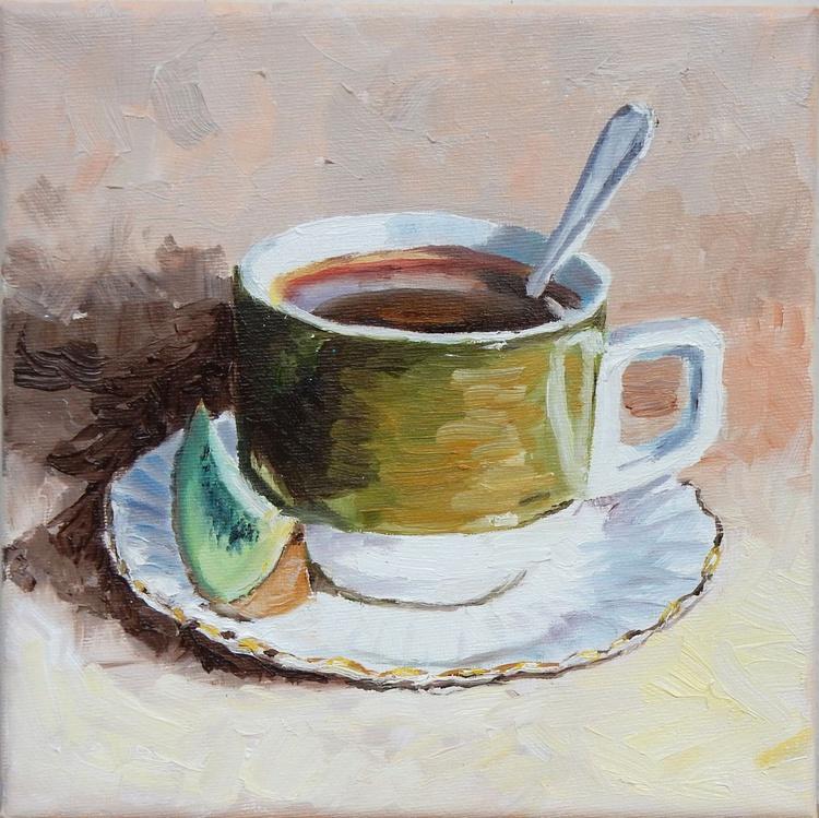 Teacup(4). still life - Image 0