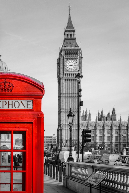 Big Ben Telephone Box - Limited Edition Print - Image 0