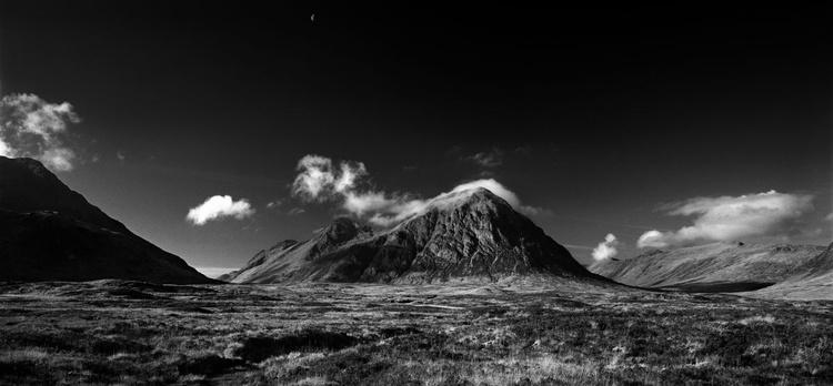 Buachaille Etive Mor & Moon Glencoe   -  #2 of 15 - Image 0