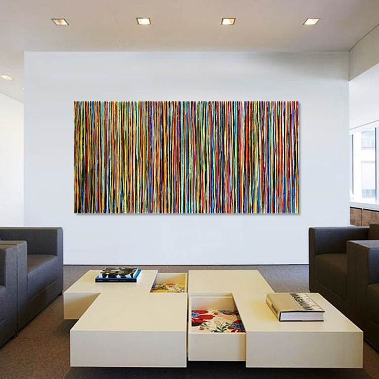 The Emotional Creation #100, 200 x 100 cm - 80 x 40 in - Image 0