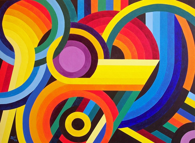 Circles, Curves and Colour - Image 0