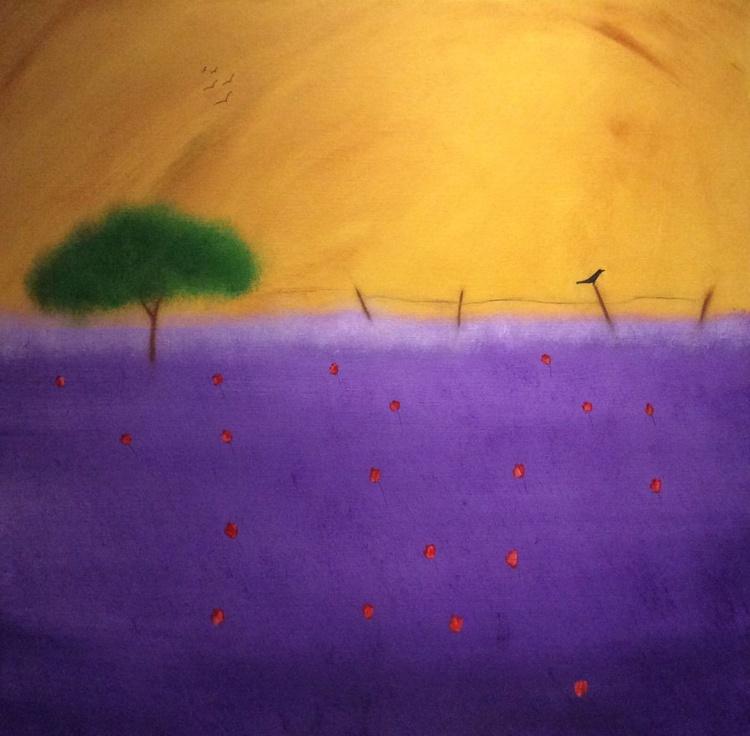""" summer heat of Provence "" - Image 0"