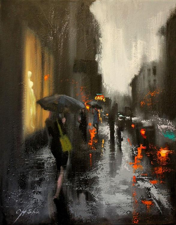 Village Cafe and Rain - Image 0