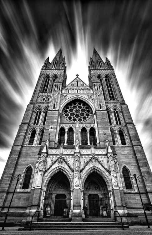 Truro Cathedral long exposure